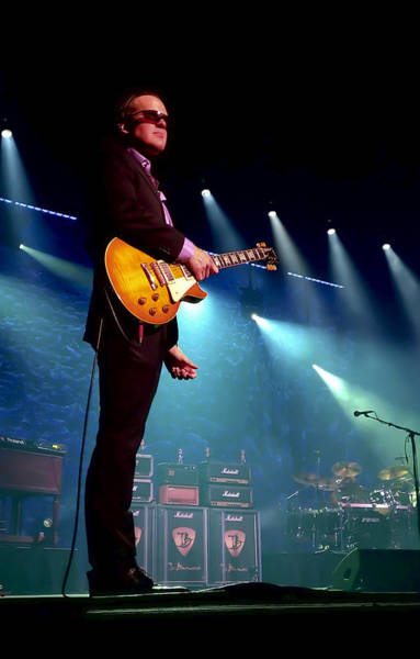 Microphone Photograph - Joe Bonamassa 2 by Peter Chilelli