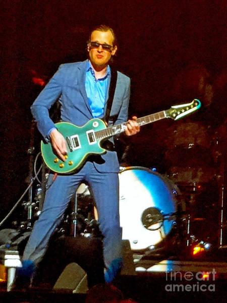 Photograph - Joe Bonamassa - Live Performance In Eugene Oregon. 2 by Tanya Filichkin