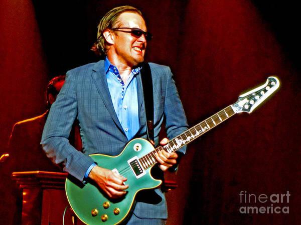 Photograph - Joe Bonamassa - Live Performance In Eugene Oregon. 3 by Tanya Filichkin