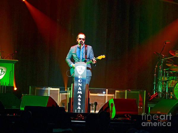 Photograph - Joe Bonamassa - Live Performance In Eugene Oregon  by Tanya Filichkin