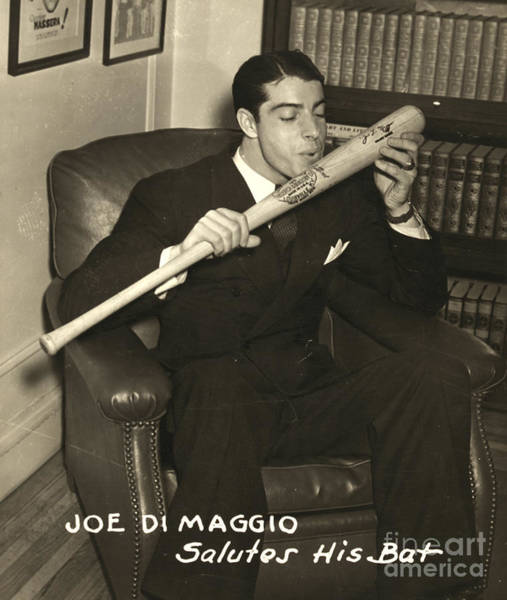 Photograph - Joe Dimaggio (1914-1999) by Granger