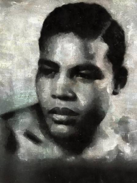 Boxing Painting - Joe Louis by Esoterica Art Agency