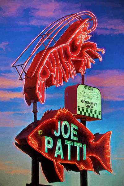 Pensacola Photograph - Joe Patti Seafood Pensacola by JC Findley