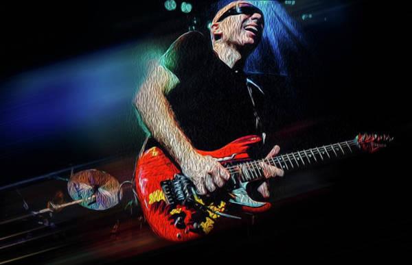 Joe Satriani Photograph - Joe Satriani by Robert Storost