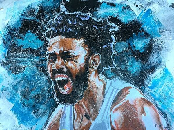 Joel Berry II Art Print