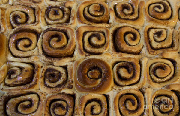 Cinnamon Buns Photograph - Joe's Yummy Swirls by Al Bourassa