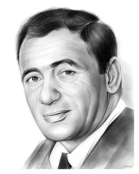 Drawing - Joey Bishop by Greg Joens