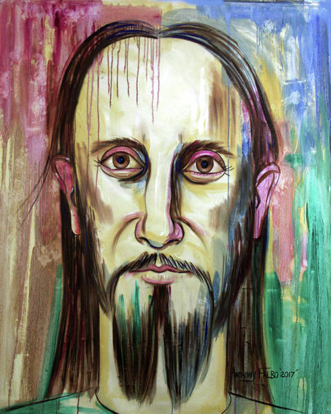 Painting - John 14 9 Anyone Who Has Seen Me Has Seen The Father  by Anthony Falbo