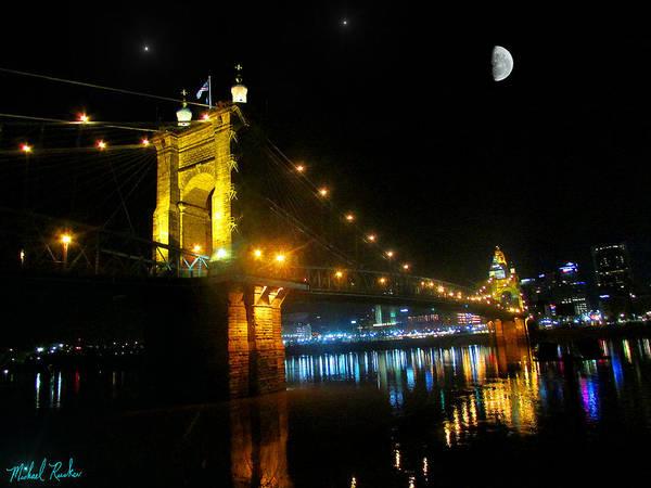 Wall Art - Photograph - John A. Roebling Bridge by Michael Rucker