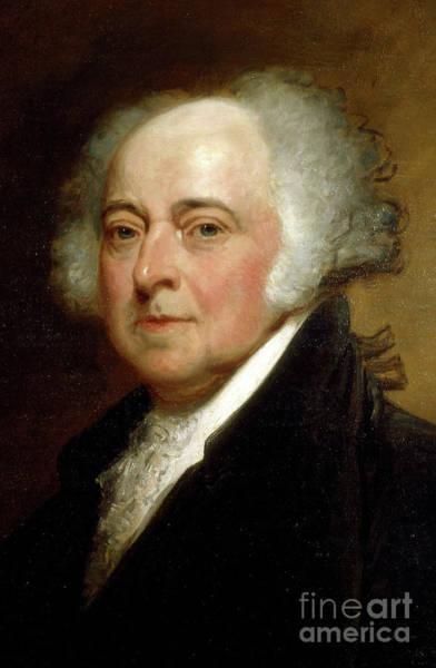 Wall Art - Painting - John Adams by George Peter Alexander Healy