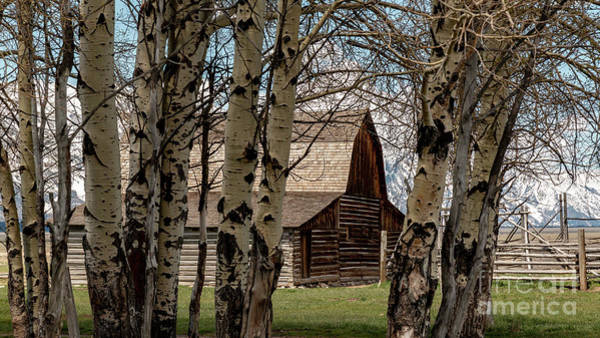 Photograph - John And Bartha Moultan Homestead Barn by Pam  Holdsworth