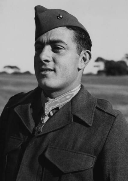 Wall Art - Photograph - John Basilone by War Is Hell Store
