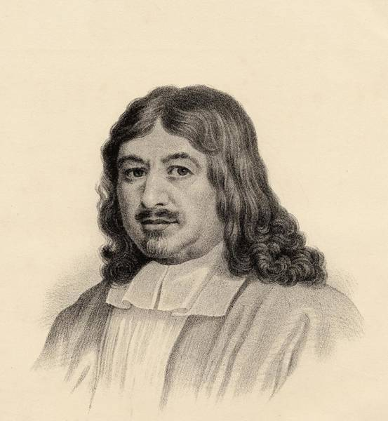 Wall Art - Drawing - John Bunyan, 1628-1688. Author Of by Vintage Design Pics