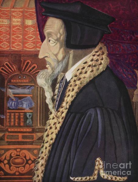 Wall Art - Painting - John Calvin by German School