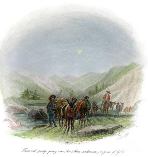 Destiny Drawing - John Charles Fremont by Granger