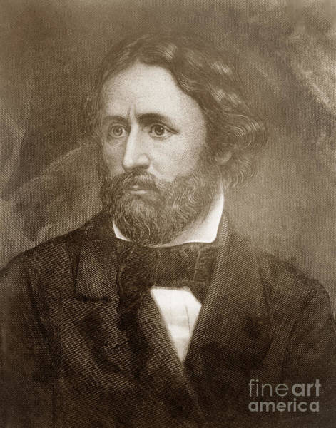 Photograph - John Charles Fremont January 21, 1813 July 13, 1890 by California Views Archives Mr Pat Hathaway Archives
