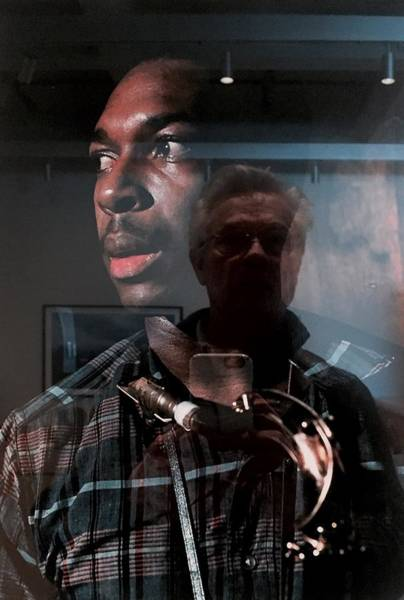 Photograph - John Coltrane And Me by Frank Winters