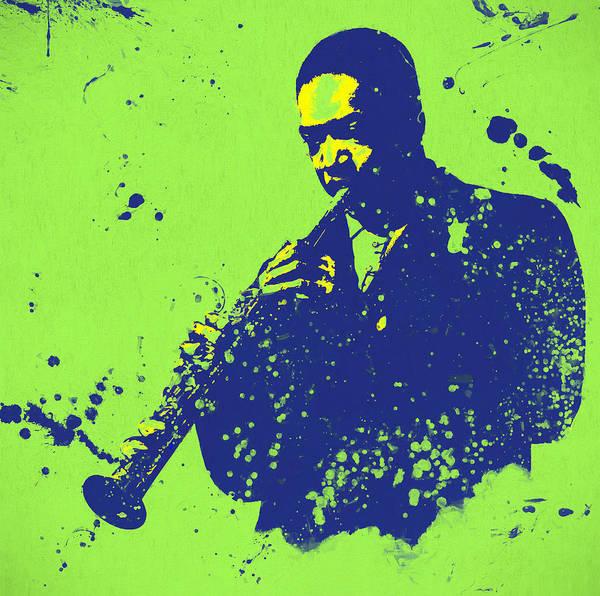 Wall Art - Painting - John Coltrane by Dan Sproul