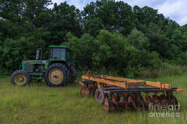 Photograph - John Deere 4450 by Dale Powell