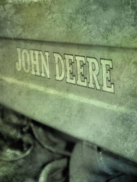 Photograph - John Deere Grunge by Dan Sproul