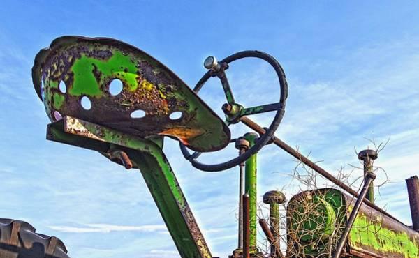 Photograph - John Deere Seat by Amanda Smith