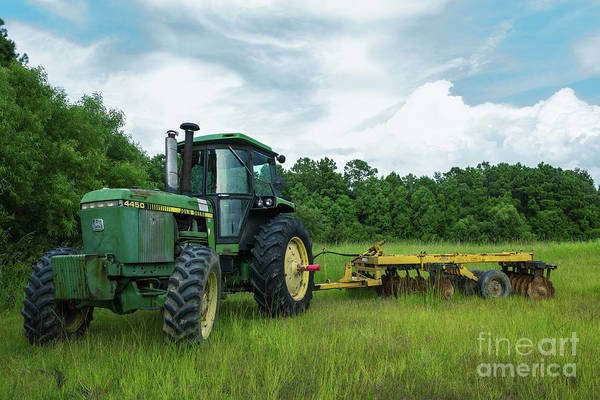 Photograph - John Deere Strong by Dale Powell