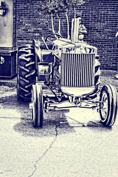Photograph - John Deere Tractor Art by Lesa Fine