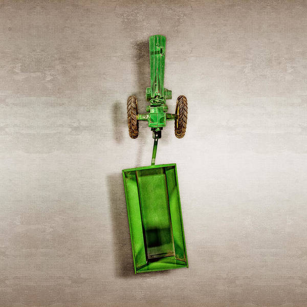 Atomic Photograph - John Deer Wagon Top by YoPedro