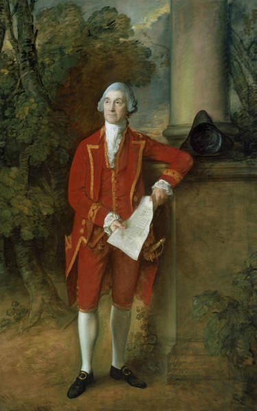 Painting - John Eld Of Seighford Hall Stafford by Thomas Gainsborough