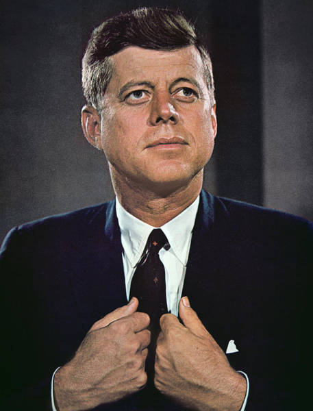 Democratic Party Photograph - John F Kennedy by American School