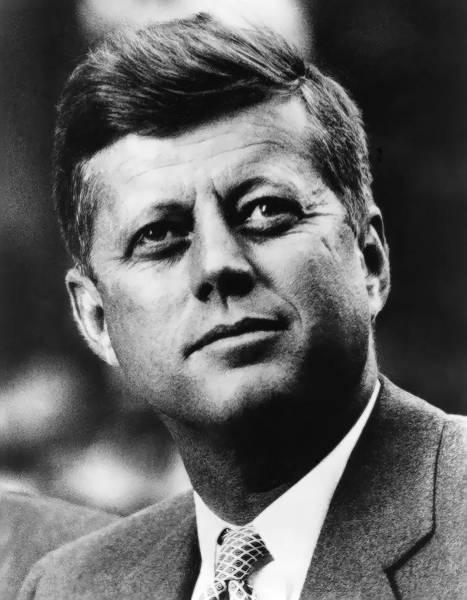 Wall Art - Photograph - John F. Kennedy  C. 1961 by Daniel Hagerman