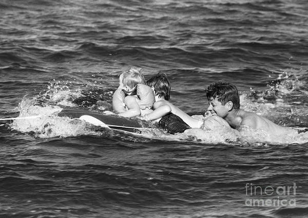 John F Kennedy Photograph - John F. Kennedy  by The Harrington Collection