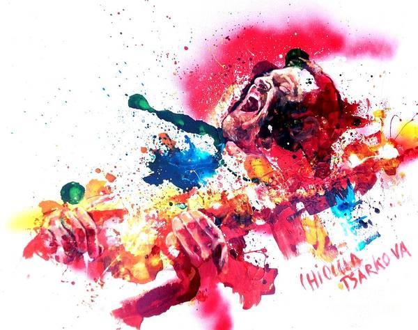 Wall Art - Painting - John Frusciante by Massimo Chioccia