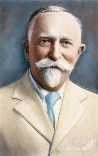 20th Century Man Drawing - John H. Kellogg, 1852-1943 by Granger