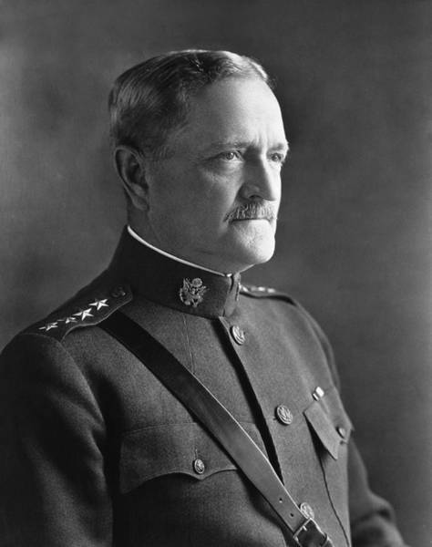John I Photograph - John J. Pershing - Commander Of American Expeditionary Force  by War Is Hell Store