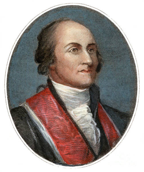Drawing - John Jay, 1745-1829 by Granger