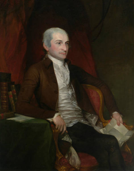 Painting - John Jay by Gilbert Stuart