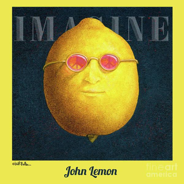 Painting - John Lemon... by Will Bullas