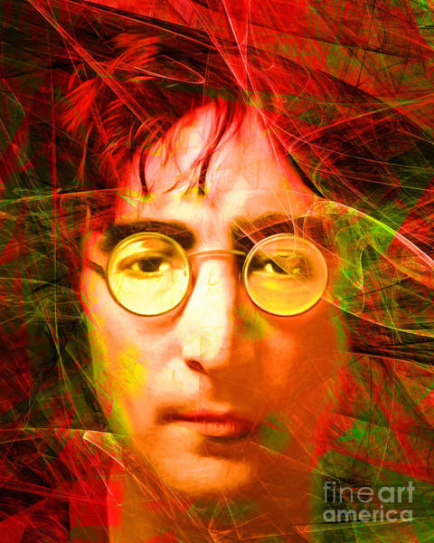Photograph - John Lennon Imagine 20160521 by Wingsdomain Art and Photography