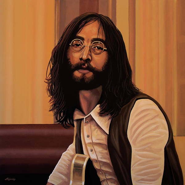 Wall Art - Painting - John Lennon Imagine by Paul Meijering