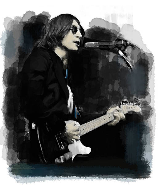Wall Art - Painting - John Lennon One Night In November  by Iconic Images Art Gallery David Pucciarelli
