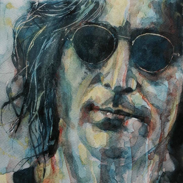 Wall Art - Painting - John Lennon  by Paul Lovering