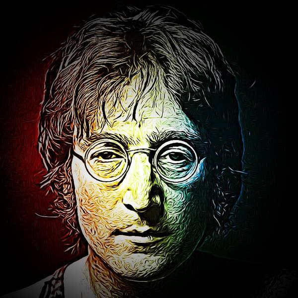 Photograph - John Lennon Reimagined by Chris Montcalmo