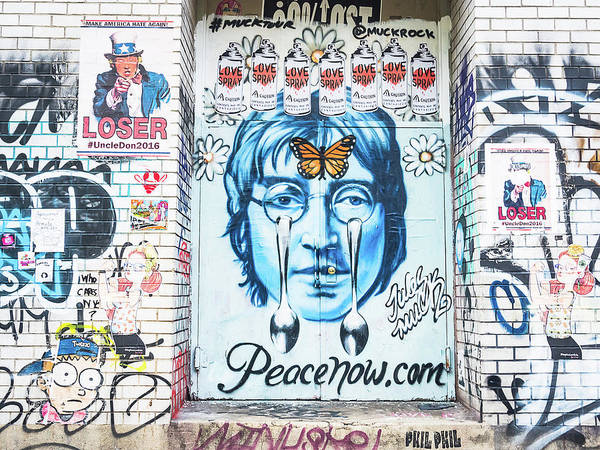 Photograph - John Lennon by Robin Zygelman