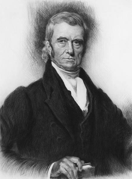 John Mixed Media - John Marshall - Founding Father And Chief Justice by War Is Hell Store