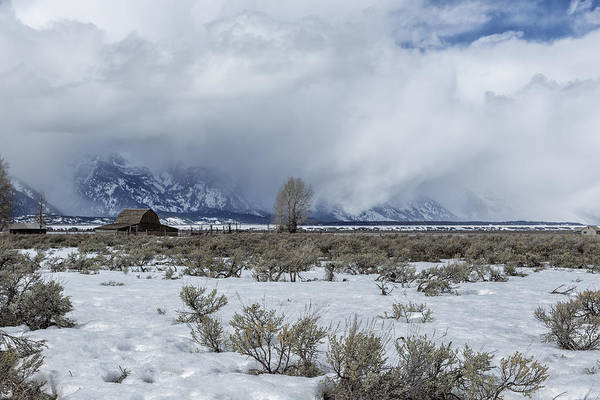 Photograph - John Moulton Barn by Belinda Greb