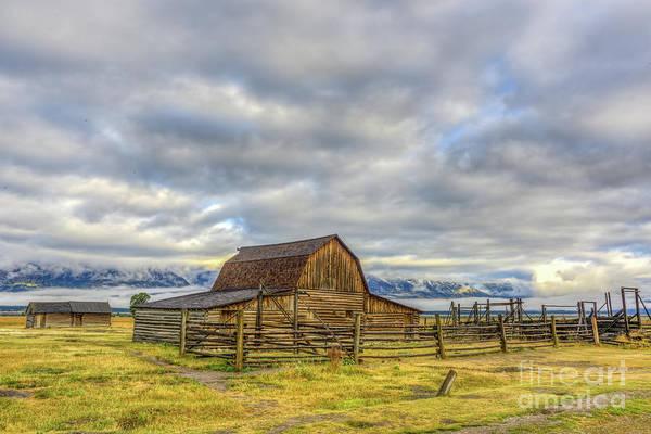 Photograph - John Moulton Barn by Paul Quinn