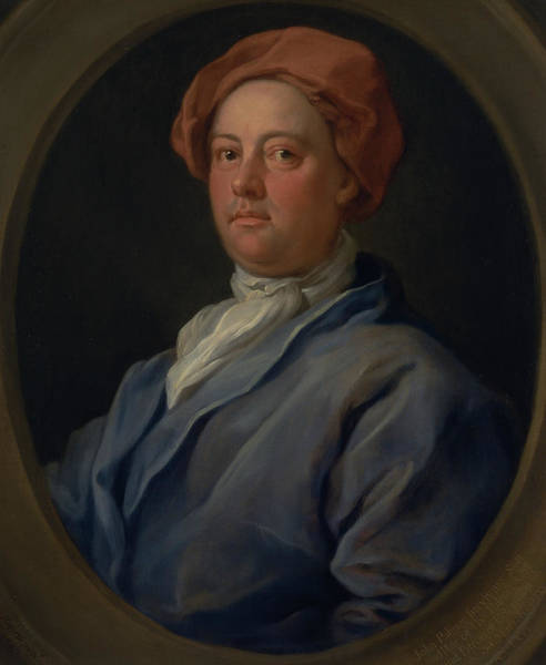 Painting - John Palmer, Barrister Of The Inner Temple by William Hogarth
