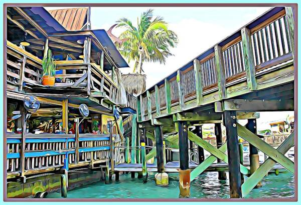 Wall Art - Digital Art - John Pass Florida by Mindy Newman
