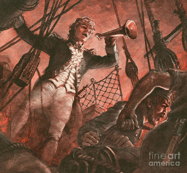 Wall Art - Painting - John Paul Jones, Founder Of The American Navy by Peter Jackson